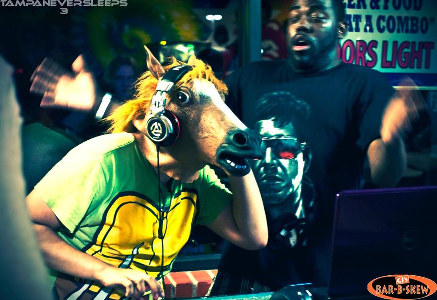 DJ Horse Head by ThatsTakao