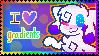 I Love Gradients Stamp