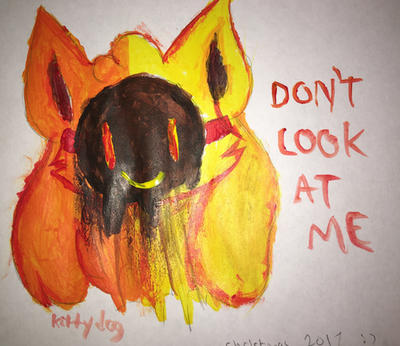 DONT LOOK AT ME by kittydogcrystal