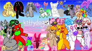 kittydog youtube banner 2018 by kittydogcrystal
