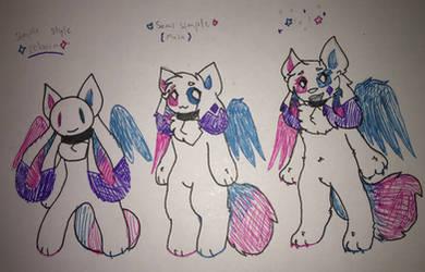 styles by kittydogcrystal
