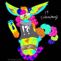 !? [interrobang] // sparklefox oc by kittydogcrystal