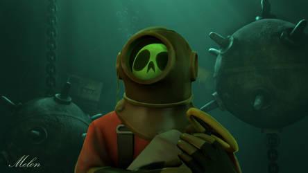 Underwater Pyro by Me-lon