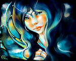 Blue Witch by mad-snaiL