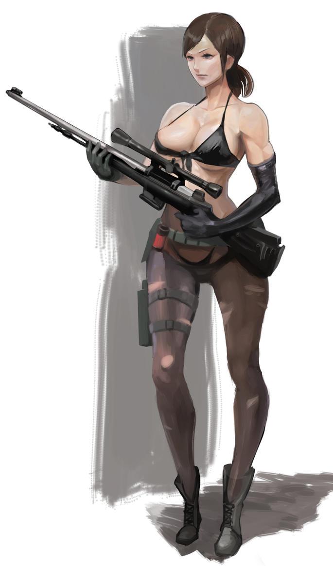 Bikini Sniper by MikazukiShigure