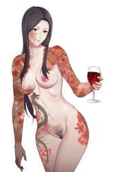 Hanako alt ver by MikazukiShigure