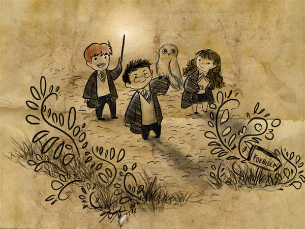 Harry Potter Sketch By Pepper Doodles On Deviantart