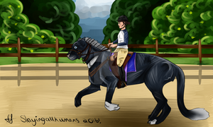 {Payment 1/2} Dressage Kitty