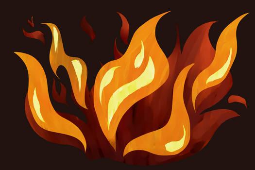 [DA Badge] Fire Tutorial