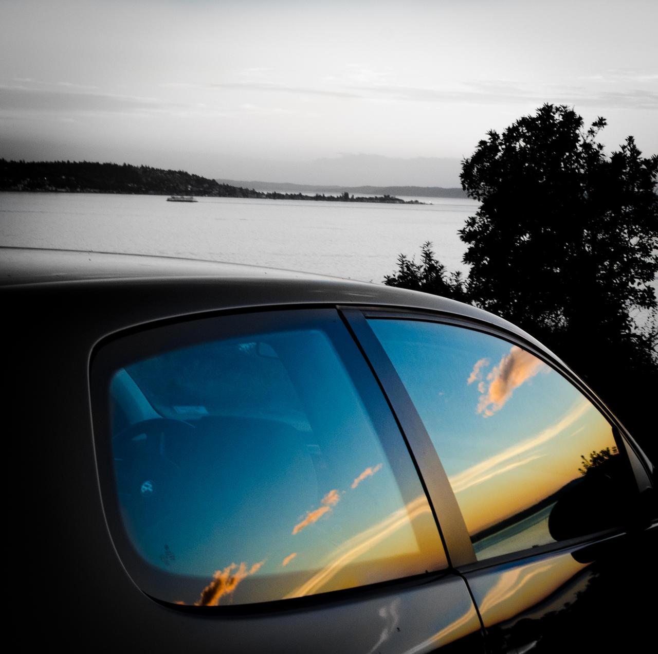 Watching sunset by IgorBekker