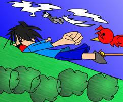 Happy B-Day Kite-ride by travisuped