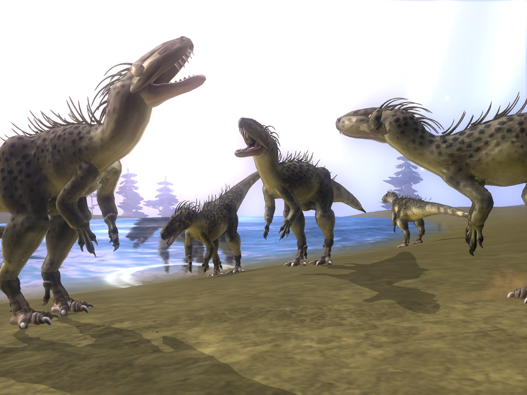Spore a family reunion by dinosaurhunter100 on deviantart - Spore galactic adventures wallpaper ...