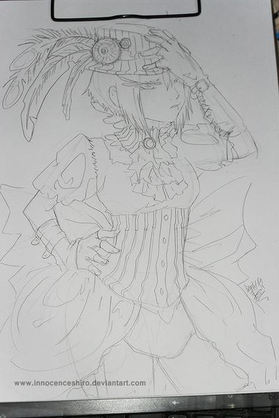 Steampunk? sketch by InnocenceShiro