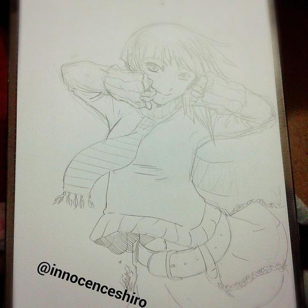 Enjoy-Sketch by InnocenceShiro