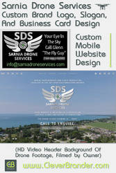 Clever Brander Design For Sarnia Drone Services