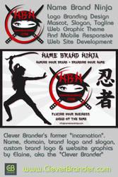 Clever Brander Design For Name Brand Ninja