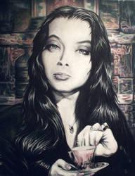 Morticia Addams by Drochfuil