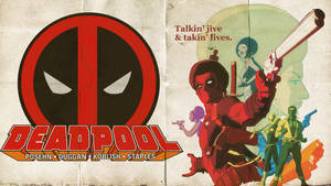 DeadPool Wallpaper by Franky4FingersX2