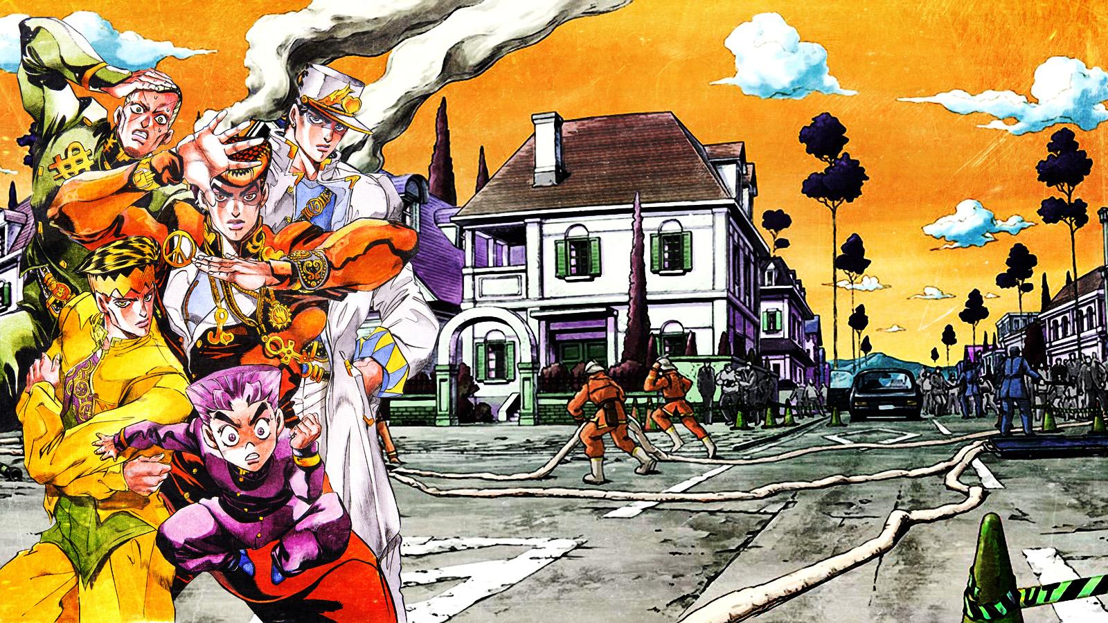 Jojo S Bizarre Adventure Wallpaper By Franky4fingersx2 On Deviantart