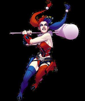 Harley Quinn Render