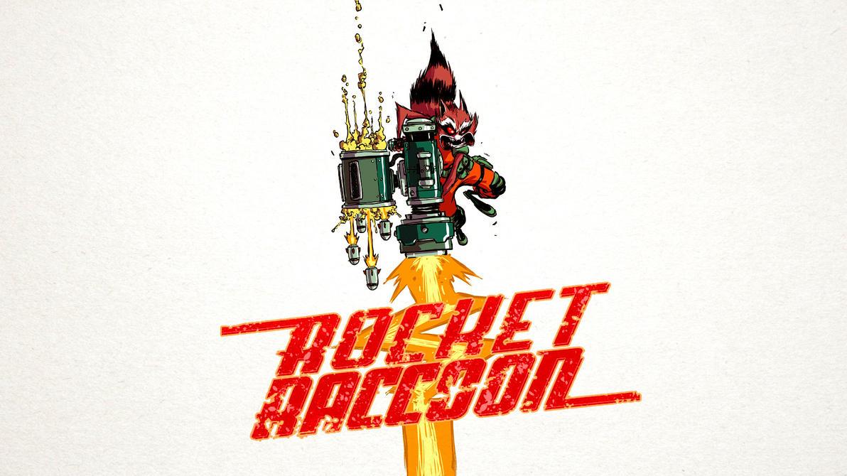 Rocket Raccoon Wallpaper By Franky4FingersX2