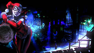 Harley Quinn Wallpaper by Franky4FingersX2