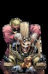 Batman and Joker Render