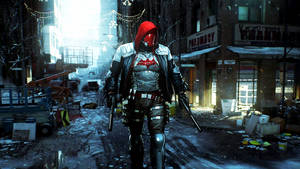 Red Hood Wallpaper by Franky4FingersX2