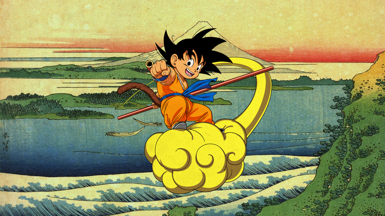 Kid Goku Dragonball Wallpaper By Franky4fingersx2 On Deviantart