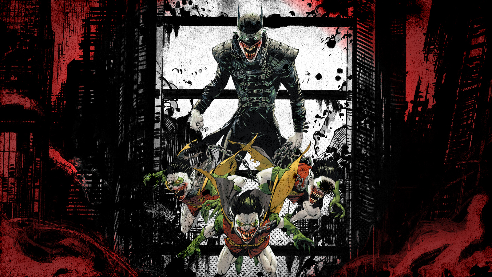 The Batman Who Laughs Wallpaper By Franky4fingersx2 On Deviantart