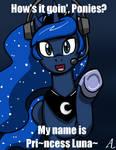Princess Luna: PewDiePie