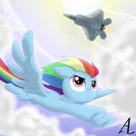 MLP x AC: Rainbow Dash and Mobius 1