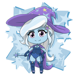 Trixie: Great and Powerful Chibi