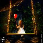 night of lights digital artwork