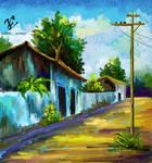 scenery digital painting 1