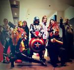 Avengers Assemble at mcm
