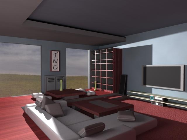3ds Max Living Room By Tylertc7 On Deviantart