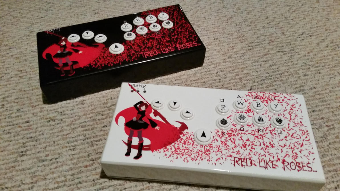 Custom Rwby Hitbox Controllers By Tylertc7 On Deviantart
