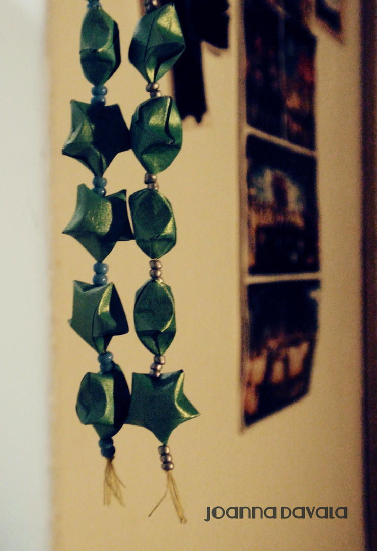 origami stars by jedi-jo