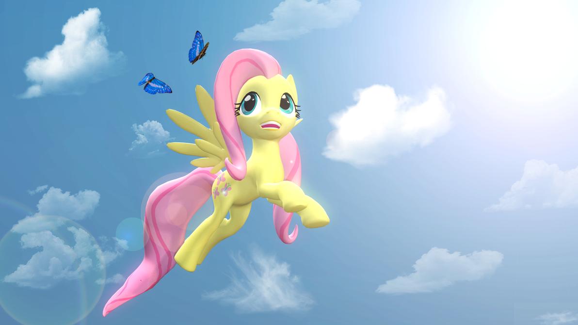 The Shy Pegasus by PontusKay