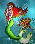 Mermaid fart