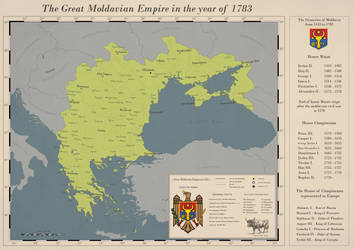 The Great Empire of Moldavia in 1783 by AussiemandiaZ