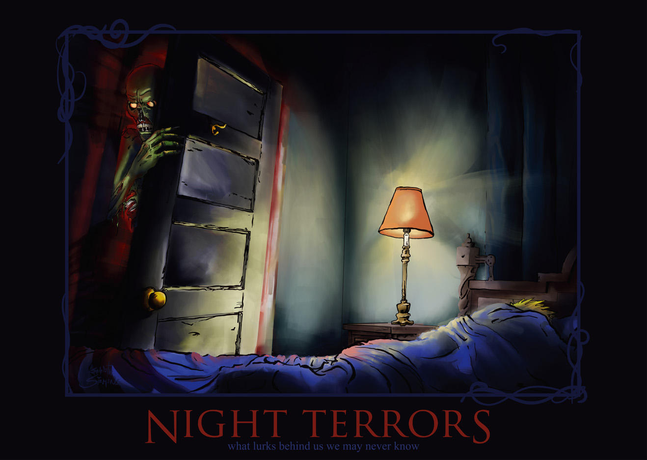 How to cure night terrors in adults