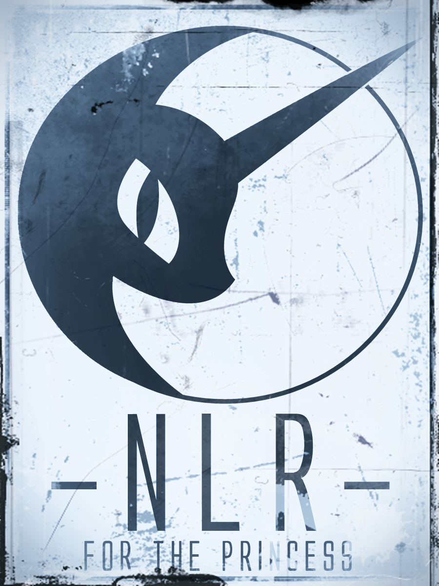 NLR-Propaganda Posterwork (white) by Grumbeerkopp