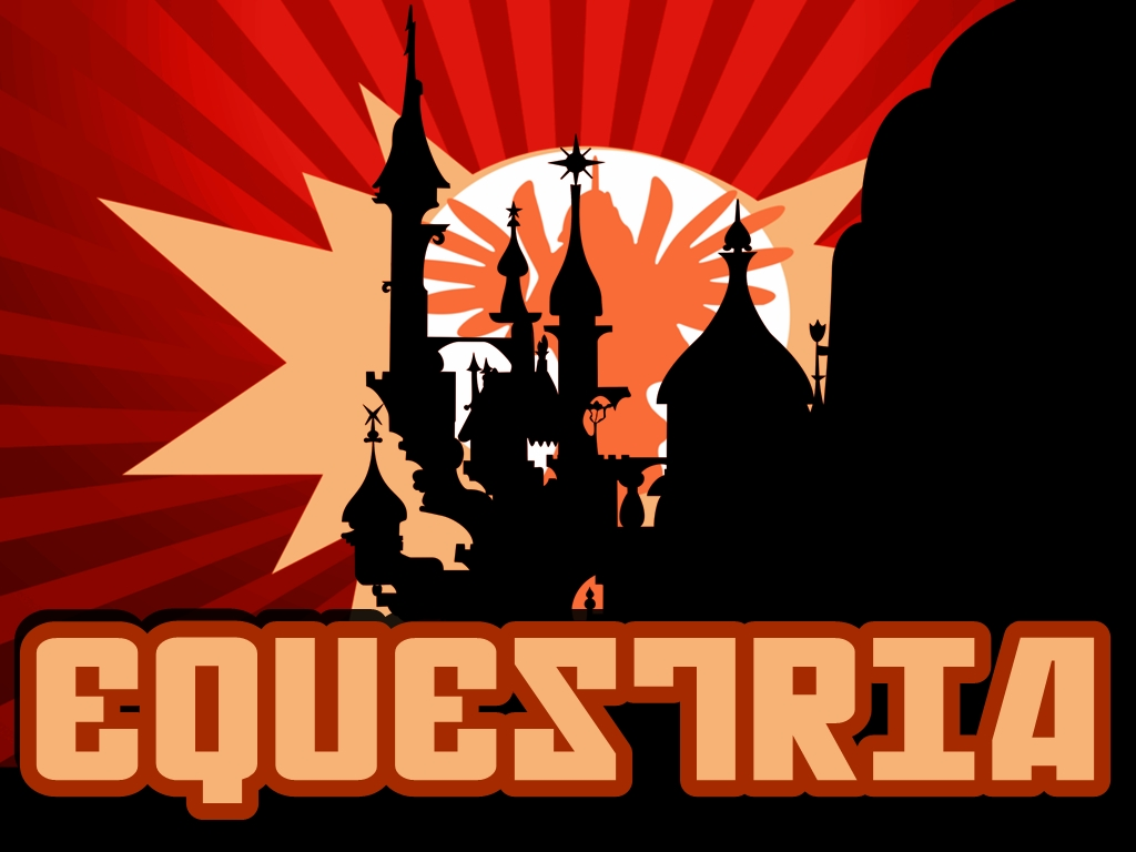 Soviet Equestria Artwork/Wallpaper (1024x768) by Grumbeerkopp