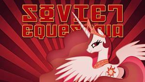 Soviet Equestria Celestia Wallpaper (1280x720) by Grumbeerkopp