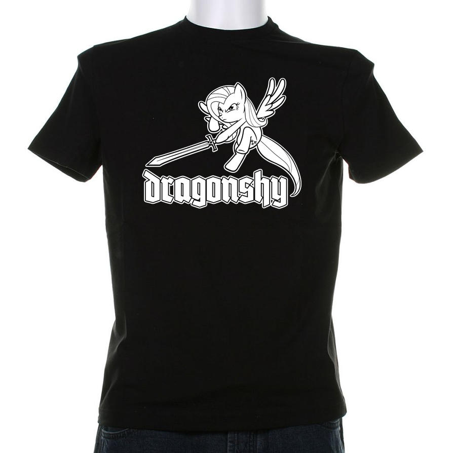 Dragonshy Shirt motive (Concept) by Grumbeerkopp