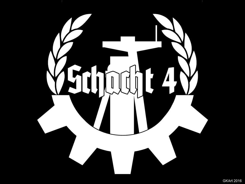 Goettelborn Schacht 4 (EBM Logo) by Grumbeerkopp