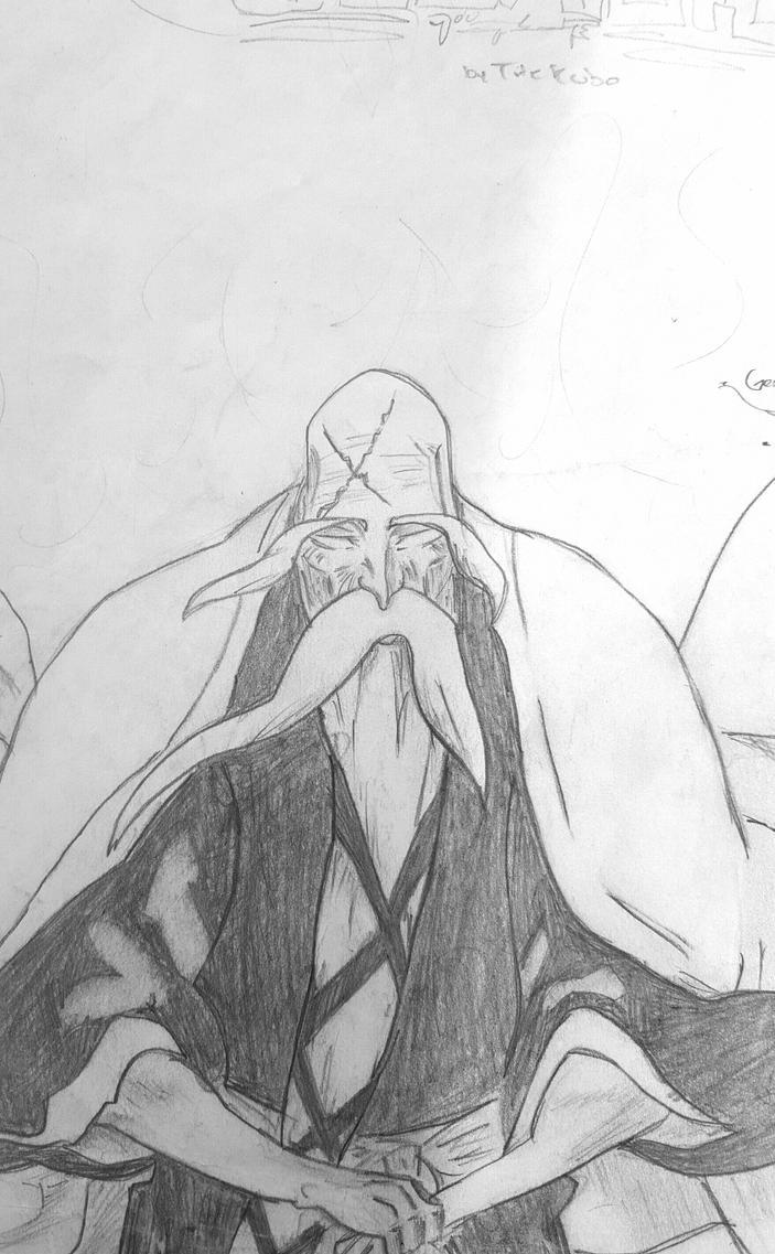 Genryusai Yamamoto-Bleach by AkameZ16