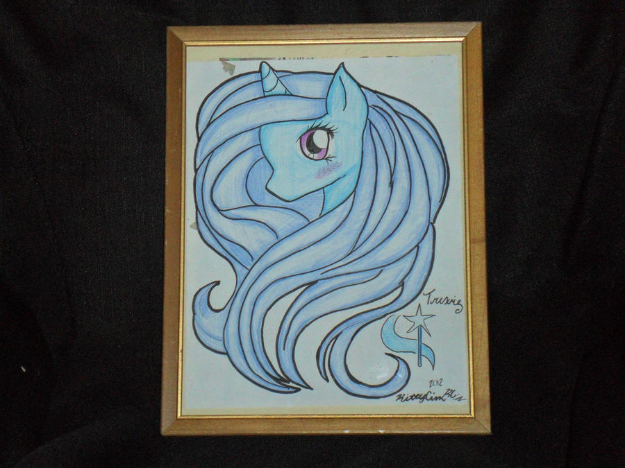 Ebay Junk - Trixie Drawing by TheMasterofDespair